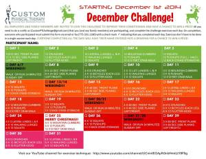 Christmas Challenge 2014