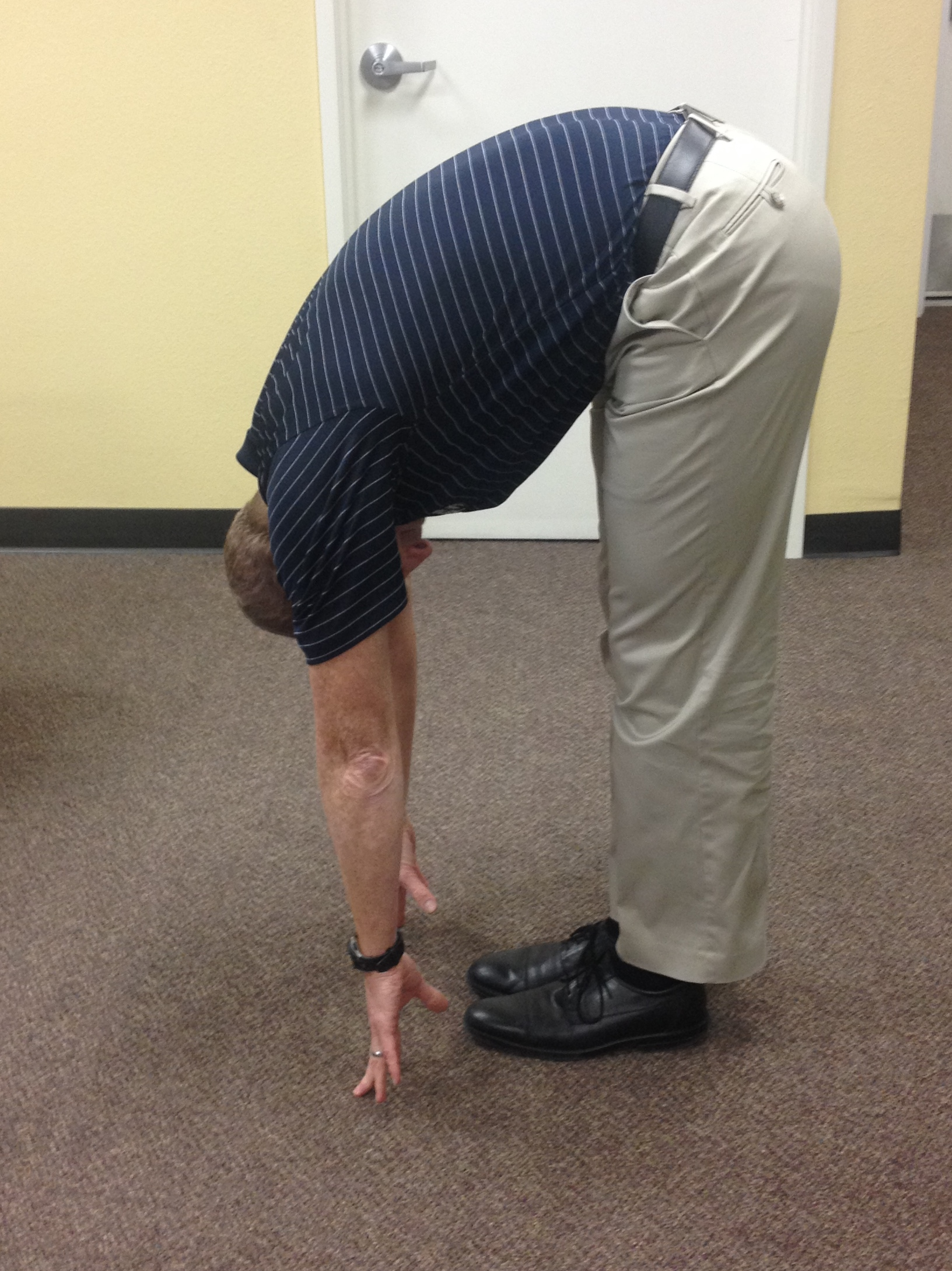 Flexion in Standing